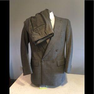 Christian Dior Monsieur: 2-pc Grey Suit. 38R/W32